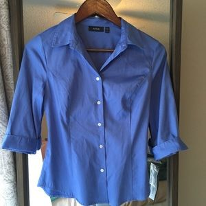 NWT Petite Button Down Shirt